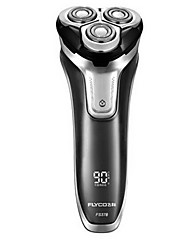 flyco fs378 afeitadora eléctrica afeitadora 100240v carga rápida indicador led