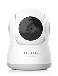 homedia® 720p 1.0mp wireless ip camera wifi motion detecção pan / tilt two way audio visão noturna baby monitor