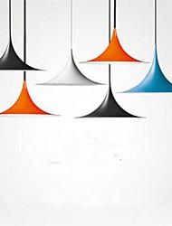 европейский стиль простой голова железный ресторан бар ретро страна промышленный ветер труба подвеска освещение