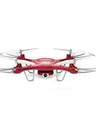 Drone SYMA X5UW Canal 4 Com 0.3MP HD Camera Forward / Backward Vôo Invertido 360° Com Câmera Quadcóptero RC Câmera Cabo USB Chave de