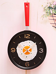 Moderno/Contemporáneo Campestre Casual Otros Tema Jardín Otros Romance Familia tema rústico Reloj de pared,Redondo Material Mixto