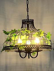 personnalité créative américaine fer forgé cage noyer vent industriel rétablissant les anciennes façons de lampes et lanternes salle à