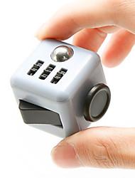 cinza fidget cubo dedo mão topo magia espremer enigma cubo trabalho classe casa edc adicionar adhd anti ansiedade stress reliever 1pc