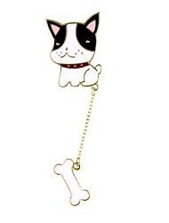 Жен. Броши Бижутерия Животный дизайн Chrismas Сплав Геометрической формы Собака Бижутерия Назначение Пляж