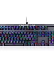 motospeed ck103 rgb Hintergrundbeleuchtung usb mechanische Tastatur