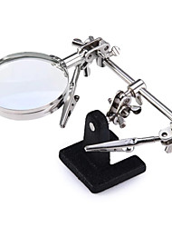 SY-209A  Multi-functional Welding Magnifying Glass Soldering Iron Stand Holder Table Magnifier