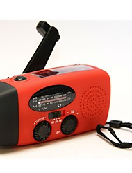 HY-088WB Portable Radio FlashLight Ruby
