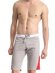 Men's Men Sexy Push-Up Color Block Ultra Sexy Panties Long Johns