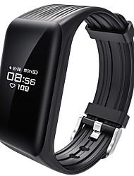 yy k1 умный браслет, устойчивый к воде / калории, сжигаемый шагомер, упражнение, запись, спорт, мониторинг сердечного ритма, сенсорный для