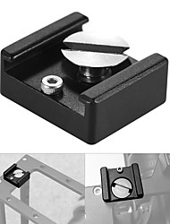 Upínací držák pro studenou hlavu pro upevnění na botu s upevňovacím šroubem 1/4 pro dslr fotoaparát klec flash LED mikrofon (balení 5)