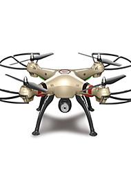 Drone SYMA X8HC Canal 4 Com Câmera HD de 2.0MP Altura segura Forward / Backward Vôo Invertido 360° Com Câmera Quadcóptero RC Câmera Chave
