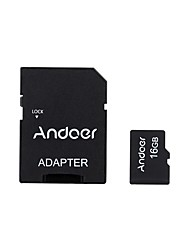 andoer 16gb класс 10 карта памяти tf карта адаптер кард-ридер usb флеш-накопитель для камеры автомобиль камера сотовый телефон стол ПК gps