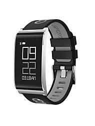 n109 мужская женщина bluetooth 4.0 smart bracelet / smart watch сердечный ритм артериального давления шагомеры тест спортивный
