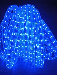 8m 220v higt brilhante levou faixa de luz flexível 5050 480smd três cristal luzes barra de luz à prova de água do jardim com plugue de