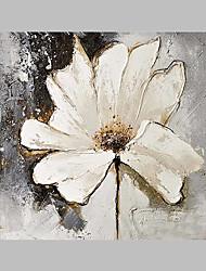 Pintados à mão Floral/Botânico Artistíco Ao ar Livre 1 Painel Tela Pintura a Óleo For Decoração para casa