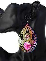 Mujer Pendientes colgantes Joyas Moda Personalizado Acero inoxidable Forma Geométrica Joyas Para Noche