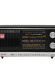 753F Radio portatil Negro