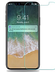 Vidrio Templado Protector de pantalla para Apple iPhone X Protector de Pantalla Frontal Alta definición (HD) A prueba de explosión