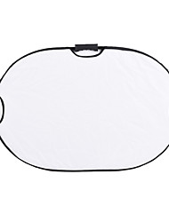 Andoer 90*60cm Portable Handheld Oval Collapsible 5in1 Multi Reflector with Gold/Sliver/White/Black/Translucent Colors for Photo Studio Photography