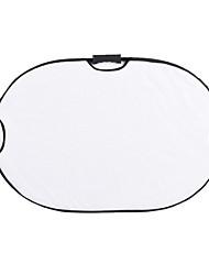 andoer 90 * 60cm portátil portátil oval plegable 5in1 multi reflector con oro / sliver / blanco / negro / colores translúcidos para