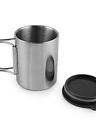 чашка Кофе и чай Нержавеющая сталь для Пикник Отдых и туризм