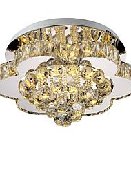 lightmyself 40 см бесступенчатое затемнение современный хрустальный потолочный светильник в помещении огни для гостиной спальня столовая