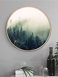 Botanical Landscape Framed Art Print Frame Art Wall Art,Wood Material With Frame For Home Decoration Frame Art Living Room Dining Room