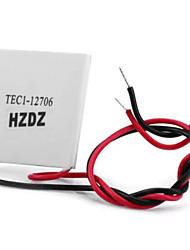 tec1 - 12706 12v 50 - 72w полупроводниковый термоэлектрический нагреватель охладителя пельтье для diy