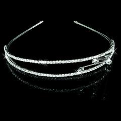 heldere kristallen bruiloft bruids tiara / helm / hoofdband