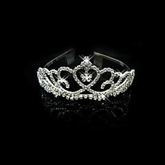 Dame / Blomsterpige Legering Headpiece-Bryllup / Spesiell Leilighet Diademer Klar Kvadrat Skjæring