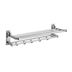 Aluminium-Magnesium-Legierung 25-Zoll-Badezimmer Regal mit Handtuchhalter und Haken
