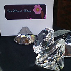 Crystal Place Card Holders - Piece/Set