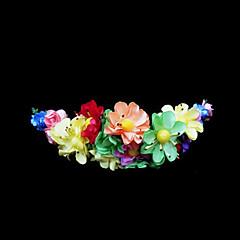Dam / Blomflicka Papper Headpiece-Bröllop / Speciellt Tillfälle Blommor