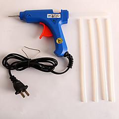 Glue Gun And Five Glue Sticks