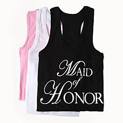 """MAID of HONOR"" Vest (More Colors)"