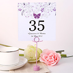 Pearl Paper Table Number Cards - Piece/Set