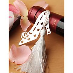 Stainless Steel Shoe Designed Bookmark Wedding Favor
