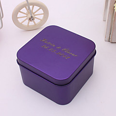 24 Piece/Set Favor Holder-Cuboid Metal Favor Boxes Favor Tins and Pails Personalized
