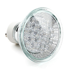 1.5W GU10 LED-spotlampen MR16 21 Dip LED 40 lm Blauw Decoratief V