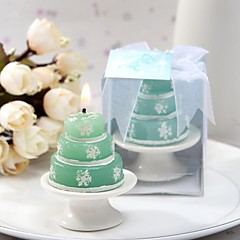 Baby Shower Candle Favors Piece / Set Stearinlys Grøn