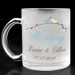 זכוכית חלבית אישית - חתונה