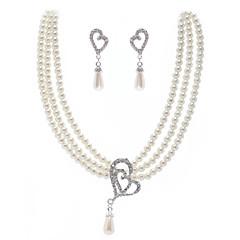 Jewelry Set Women's / Unisex Anniversary / Wedding / Engagement / Birthday Jewelry Sets Imitation Pearl / Alloy Imitation PearlNecklaces
