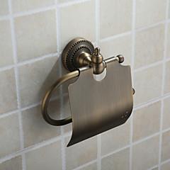 olaj dörzsölte bronz fali WC-papír tartó