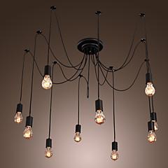Max 60W Vintage LED Korrektur Artikel Kronleuchter Wohnzimmer / Schlafzimmer / Esszimmer / Küche / Studierzimmer/Büro