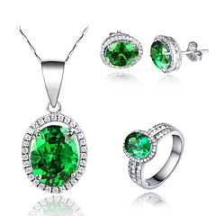 Jewelry Set Women's Anniversary / Birthday / Gift / Party / Special Occasion Jewelry Sets Silver / Platinum Cubic ZirconiaNecklaces /