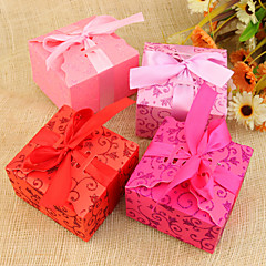 12 Piece/Set Favor Holder-Cuboid Card Paper Favor Boxes Non-personalised