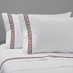 einfach&opulence® 2er-Pack Kissenbezug-Set, 400 tc 100% Baumwolle solid weiß