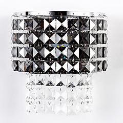 Krystal / LED / Pære medfølger Flush Mount væglamper,Moderne/samtidig Integreret LED Krystal