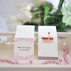 Papel Duro Decoraciones de la boda-25Piezas / Juego Personalizado Las cerillas no están incluidas.