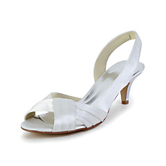 Women's Wedding Shoes Slingback Sandals Wedding Red/Ivory/White